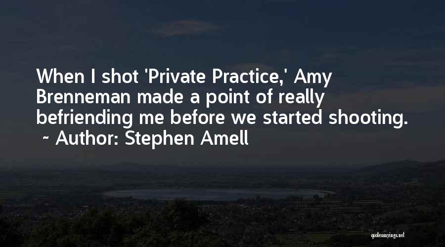 Befriending Yourself Quotes By Stephen Amell