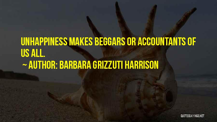 Beggar Quotes By Barbara Grizzuti Harrison