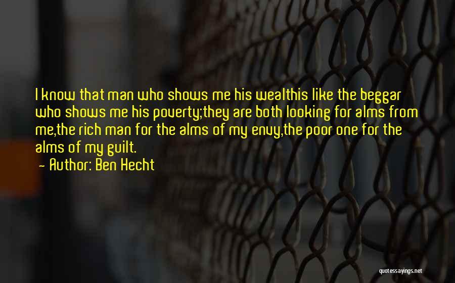 Beggar Quotes By Ben Hecht