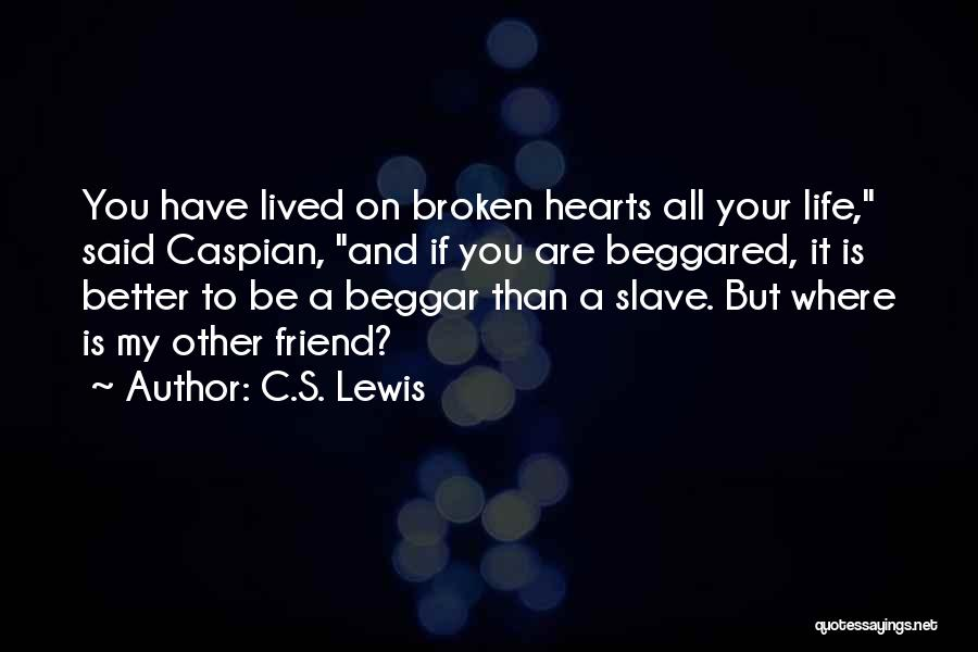 Beggar Quotes By C.S. Lewis