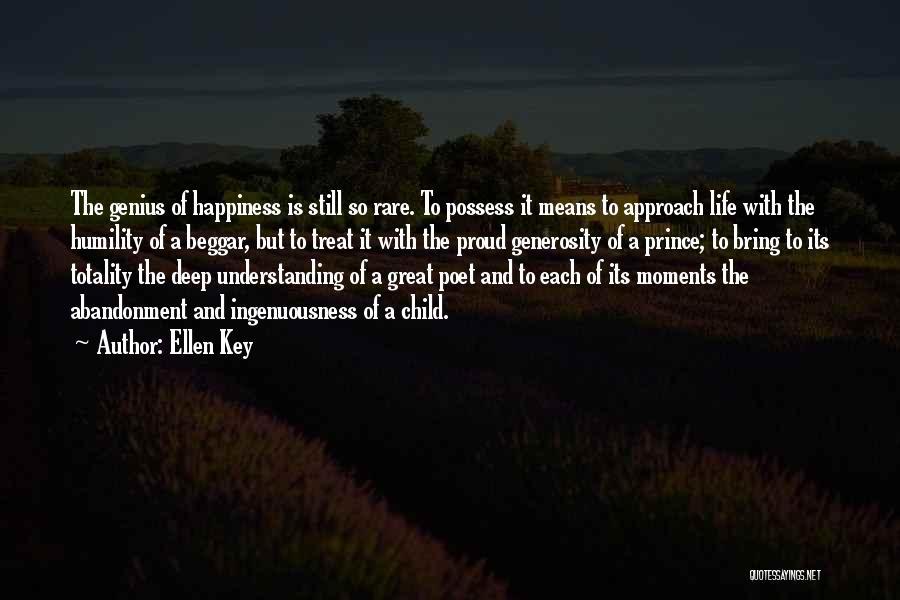 Beggar Quotes By Ellen Key