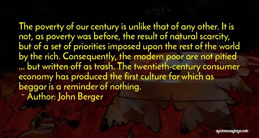 Beggar Quotes By John Berger