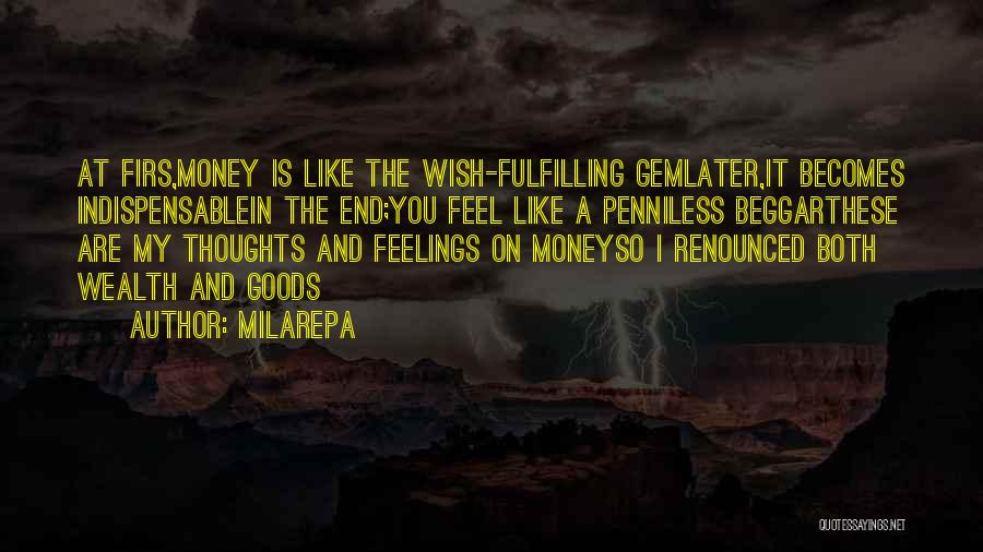 Beggar Quotes By Milarepa