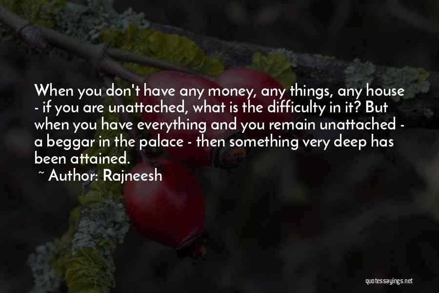 Beggar Quotes By Rajneesh