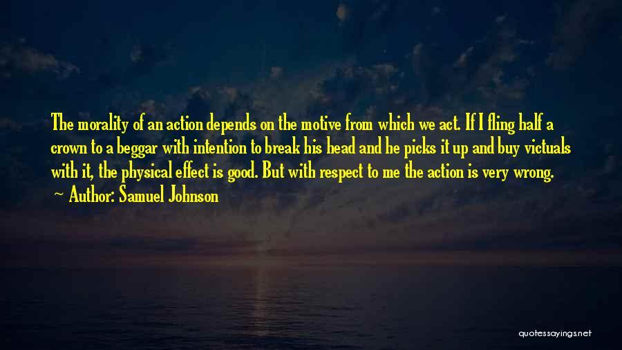 Beggar Quotes By Samuel Johnson