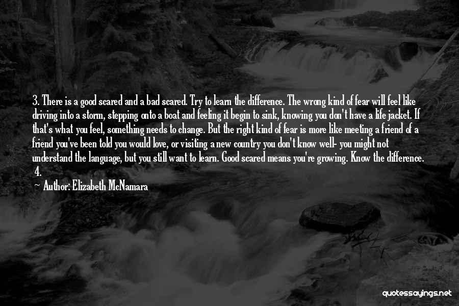 Begin Love Quotes By Elizabeth McNamara