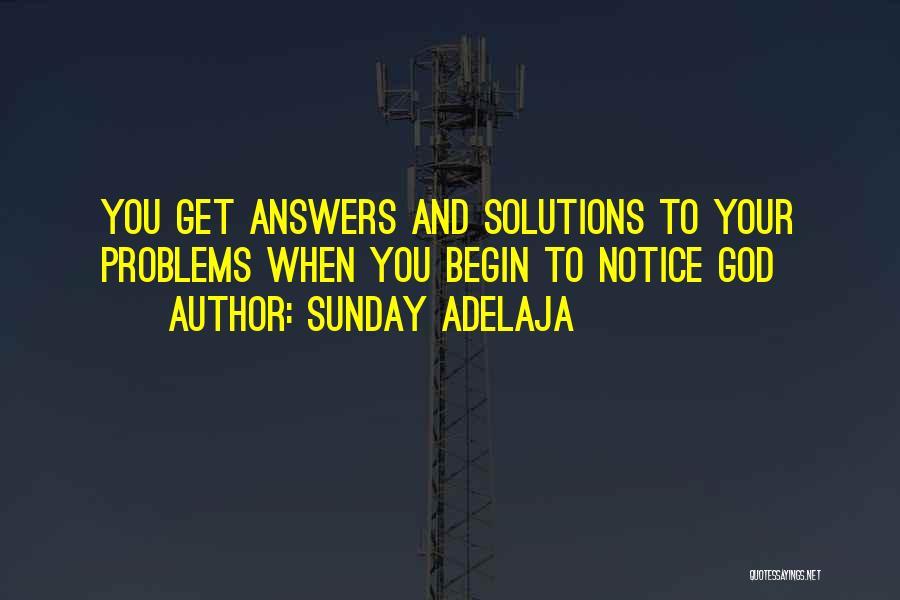 Begin Love Quotes By Sunday Adelaja