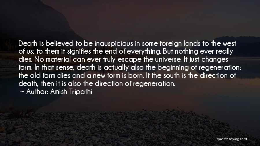 Beginning Of A New End Quotes By Amish Tripathi