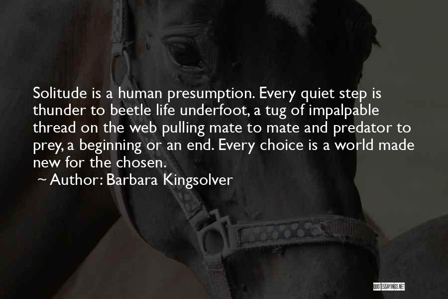 Beginning Of A New End Quotes By Barbara Kingsolver