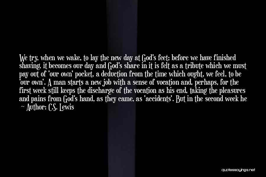 Beginning Of A New End Quotes By C.S. Lewis