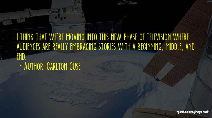Beginning Of A New End Quotes By Carlton Cuse