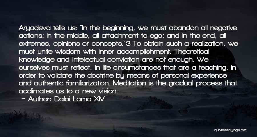 Beginning Of A New End Quotes By Dalai Lama XIV