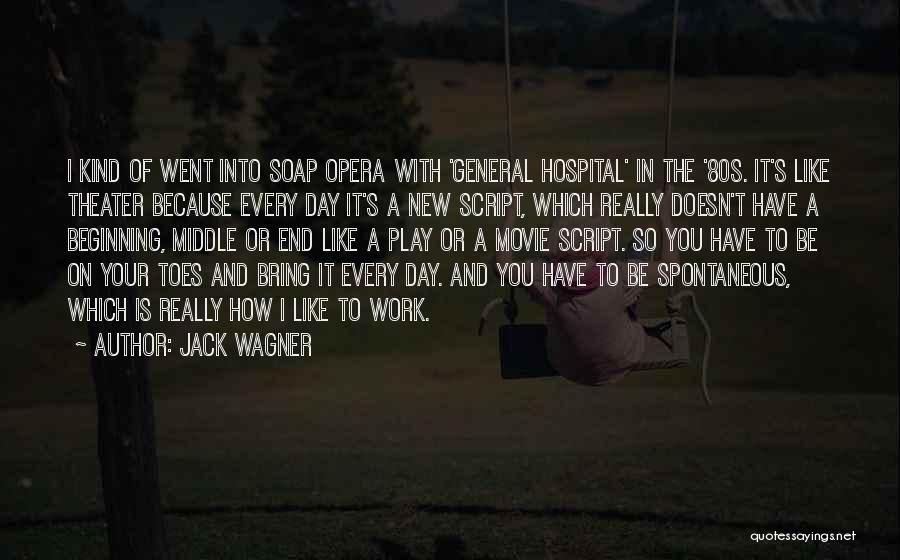 Beginning Of A New End Quotes By Jack Wagner