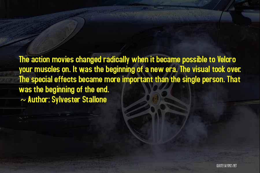 Beginning Of A New End Quotes By Sylvester Stallone