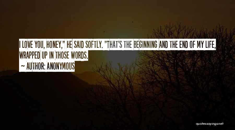 Beginning Of The End Quotes By Anonymous