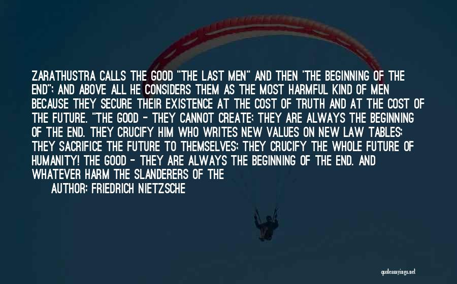 Beginning Of The End Quotes By Friedrich Nietzsche