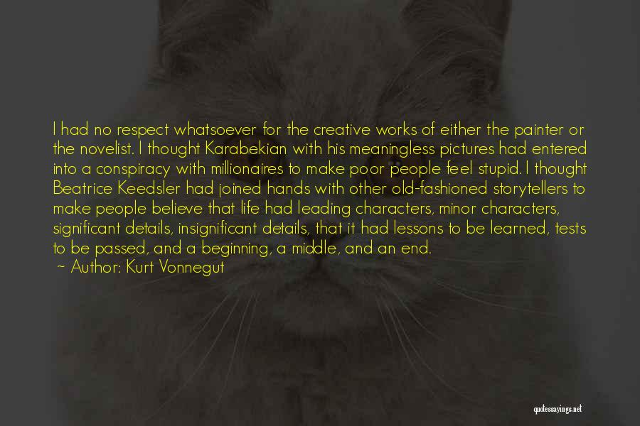 Beginning Of The End Quotes By Kurt Vonnegut