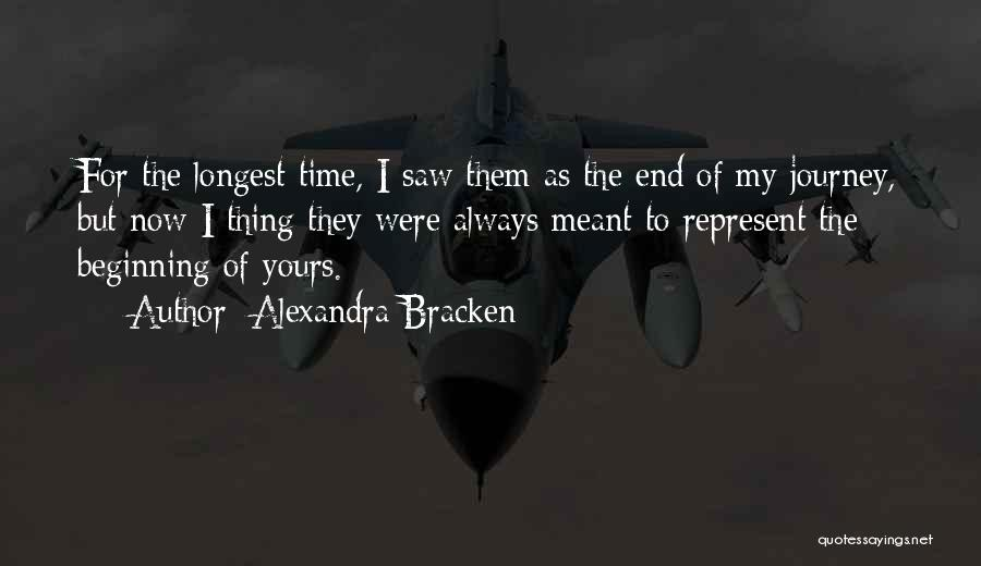 Beginning Of The Journey Quotes By Alexandra Bracken