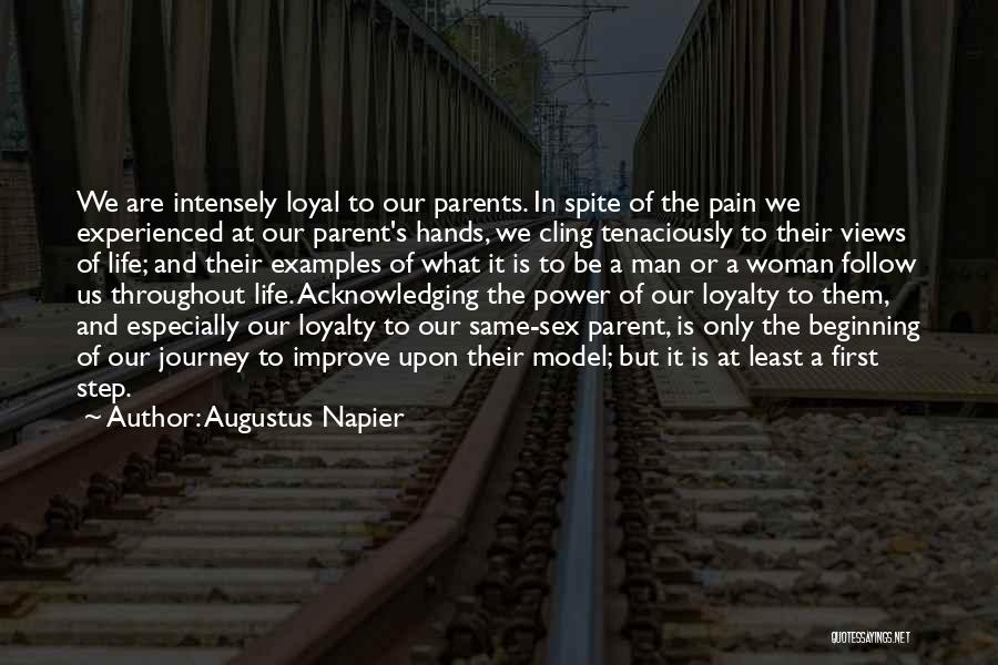 Beginning Of The Journey Quotes By Augustus Napier
