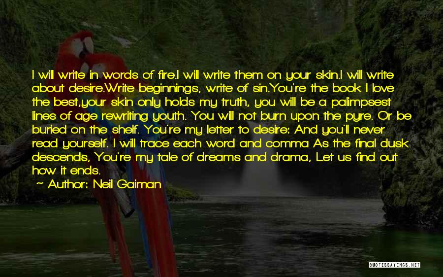 Beginnings Of Love Quotes By Neil Gaiman