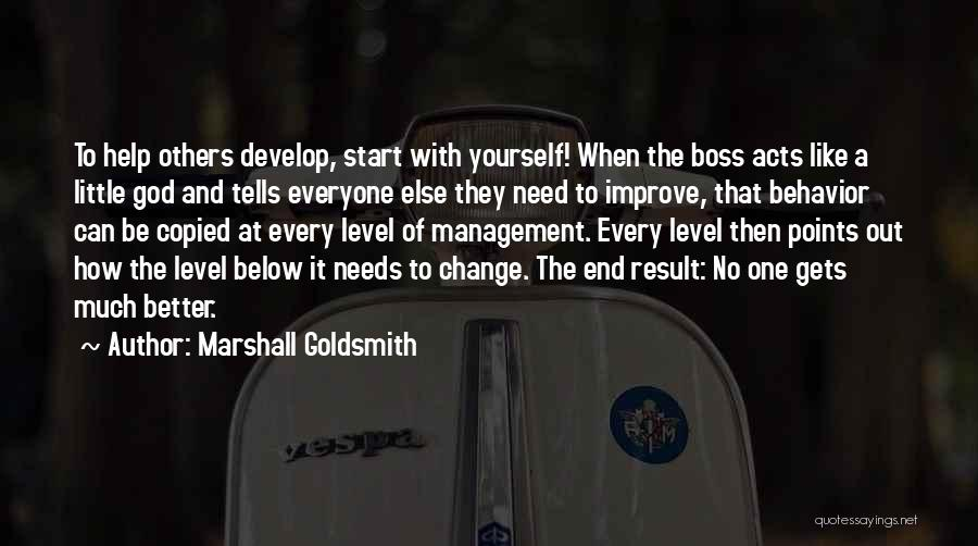 Behavior Management Quotes By Marshall Goldsmith