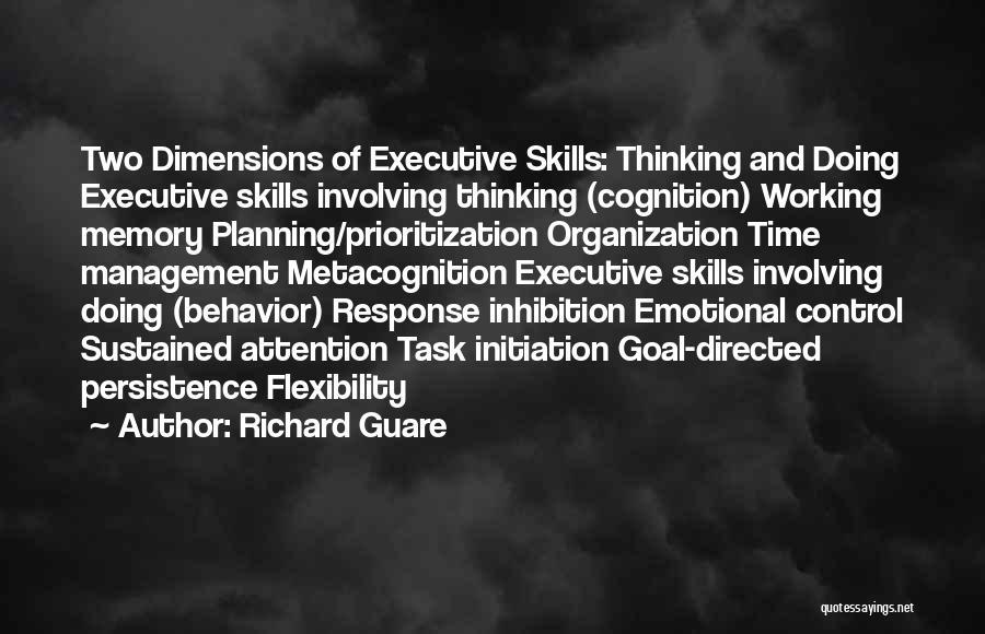 Behavior Management Quotes By Richard Guare