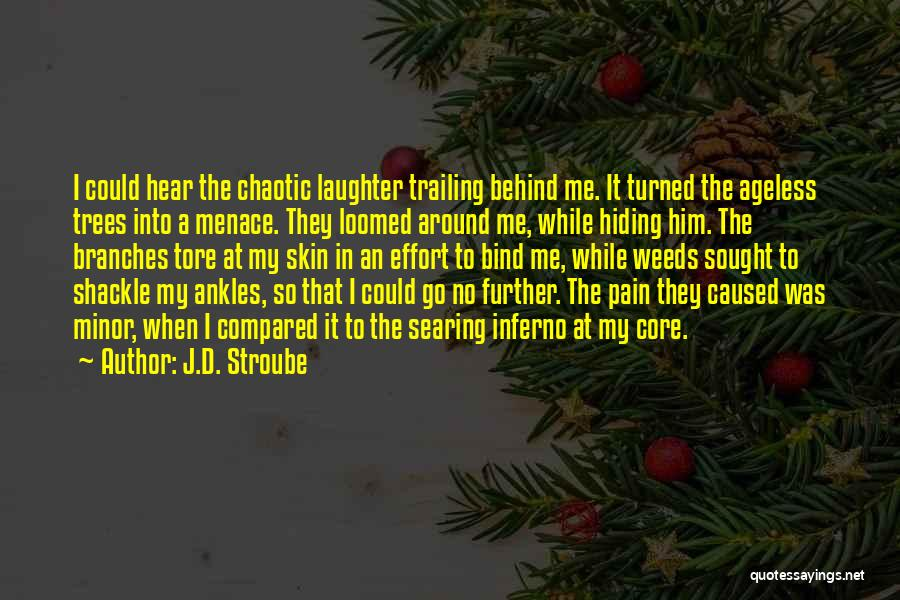 Behind My Laughter Quotes By J.D. Stroube