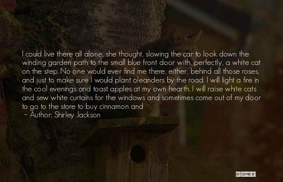 Behind The Curtains Quotes By Shirley Jackson