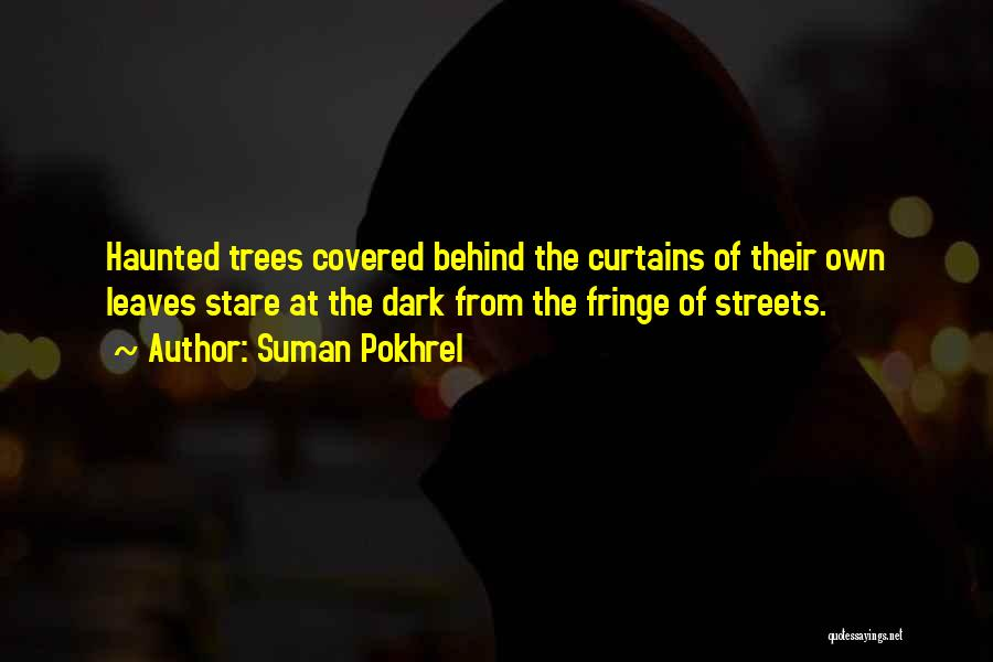 Behind The Curtains Quotes By Suman Pokhrel