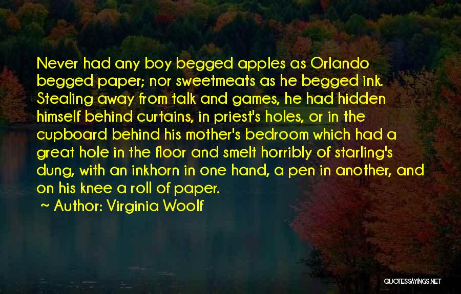 Behind The Curtains Quotes By Virginia Woolf