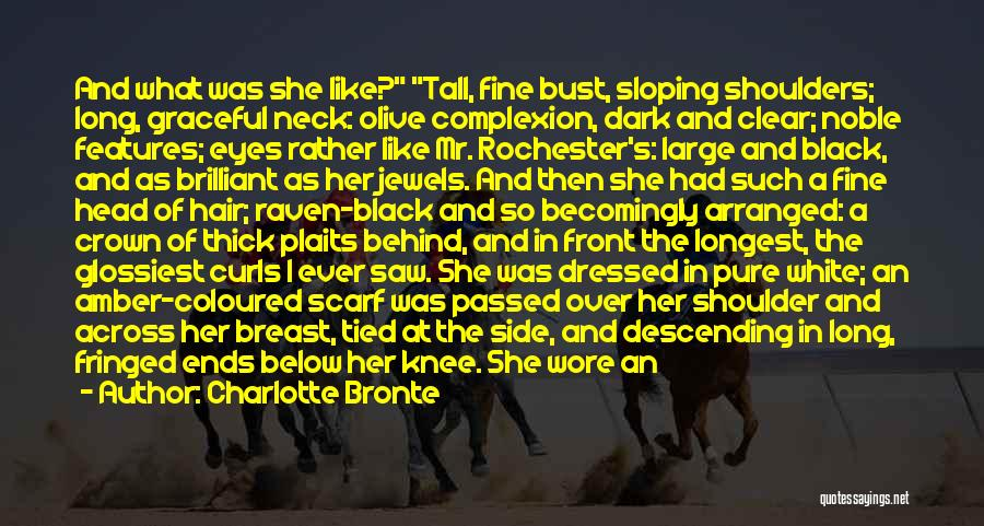 Behind The Eyes Quotes By Charlotte Bronte