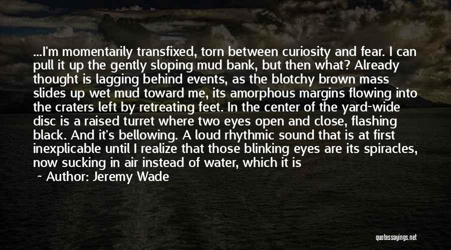 Behind The Eyes Quotes By Jeremy Wade