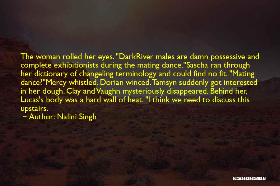 Behind The Eyes Quotes By Nalini Singh