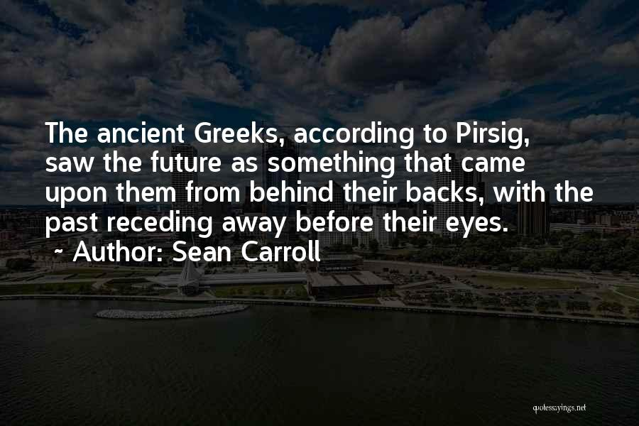 Behind The Eyes Quotes By Sean Carroll