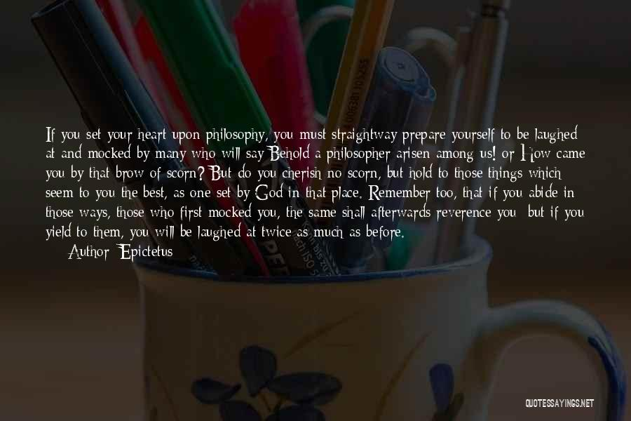 Behold Your God Quotes By Epictetus