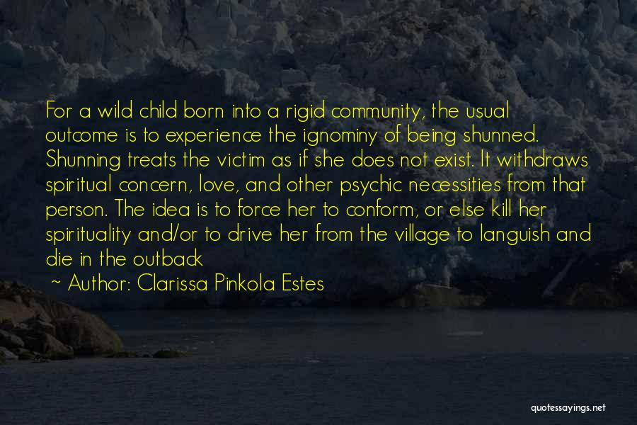 Being A Community Quotes By Clarissa Pinkola Estes