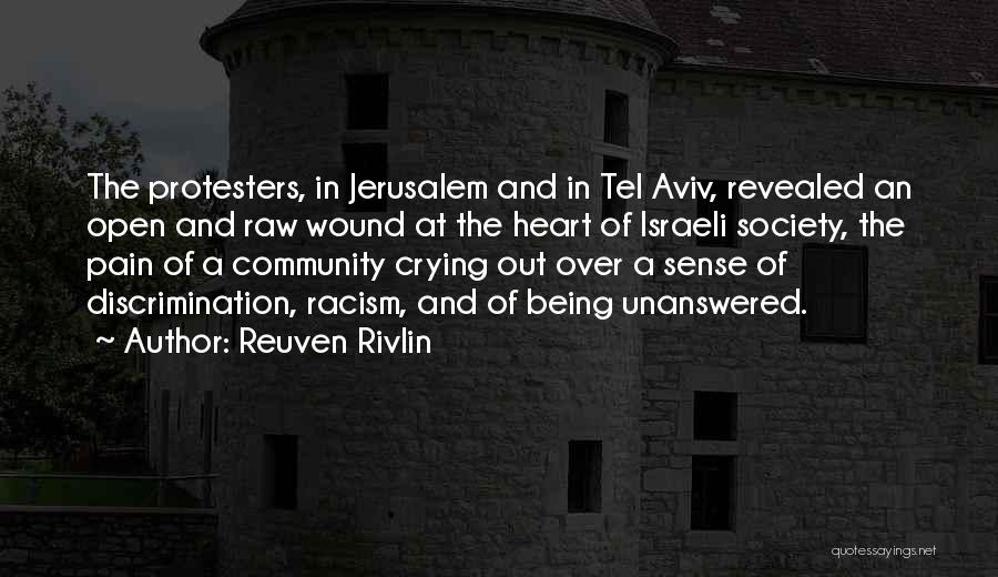 Being A Community Quotes By Reuven Rivlin