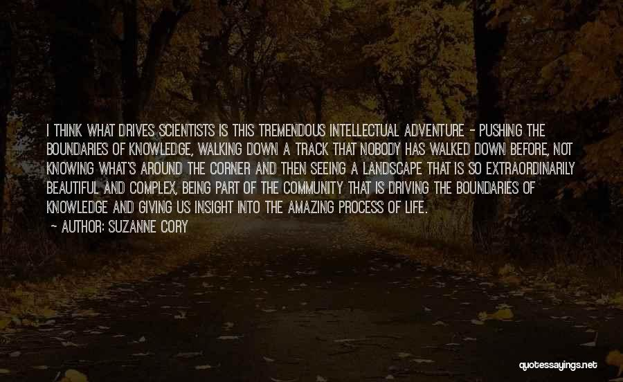 Being A Community Quotes By Suzanne Cory