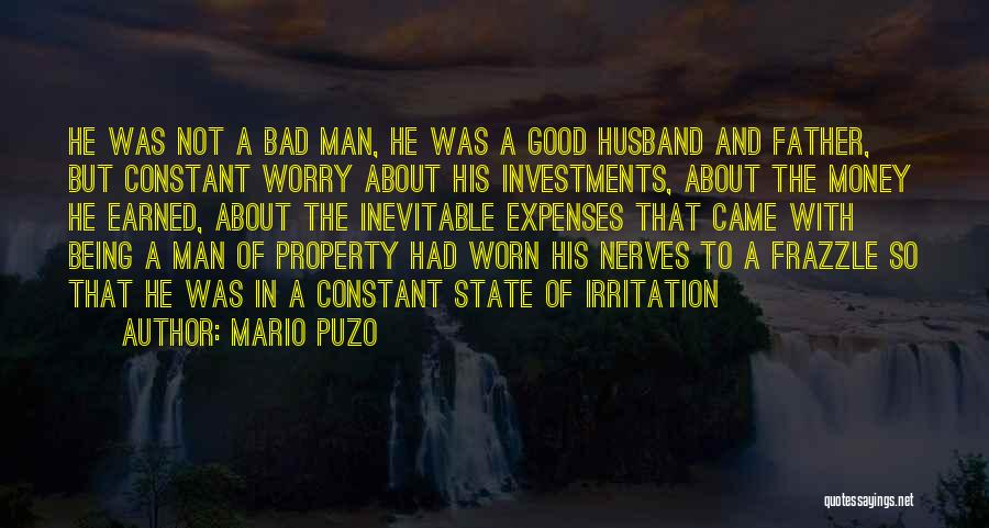 Being A Father And Husband Quotes By Mario Puzo