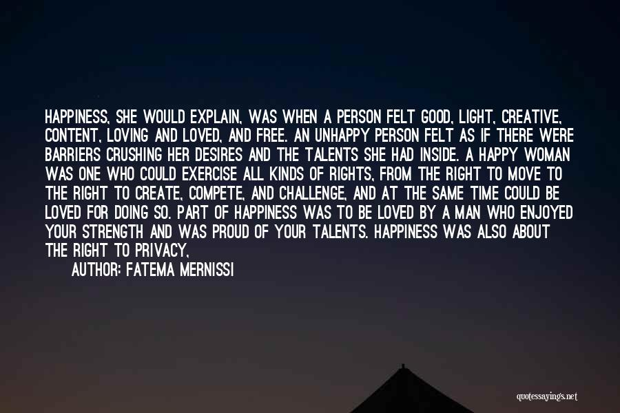 Being A Good Mother Quotes By Fatema Mernissi