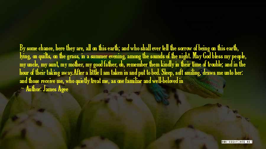 Being A Good Mother Quotes By James Agee