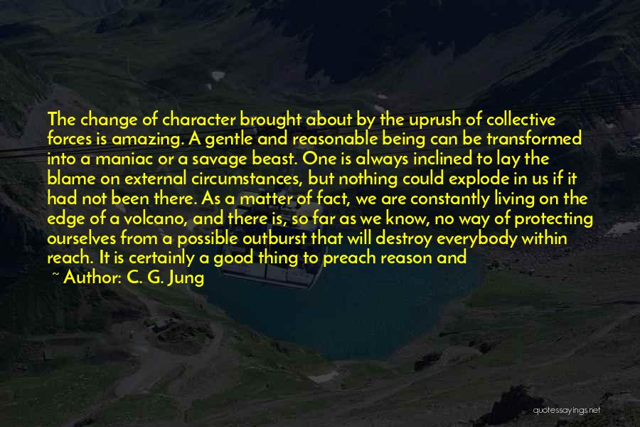 Being A Maniac Quotes By C. G. Jung