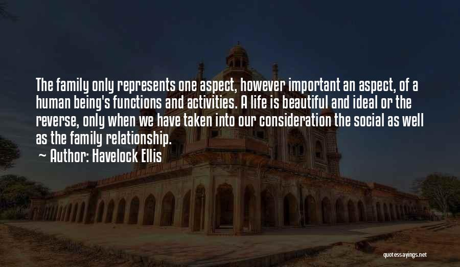 Being A Relationship Quotes By Havelock Ellis
