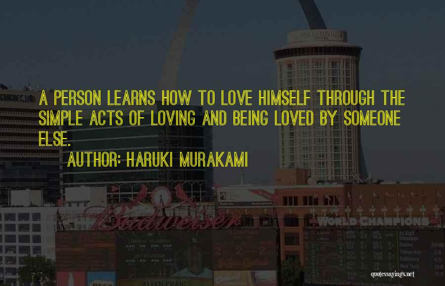 Being A Simple Person Quotes By Haruki Murakami