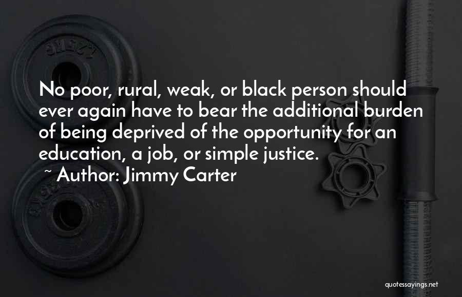 Being A Simple Person Quotes By Jimmy Carter