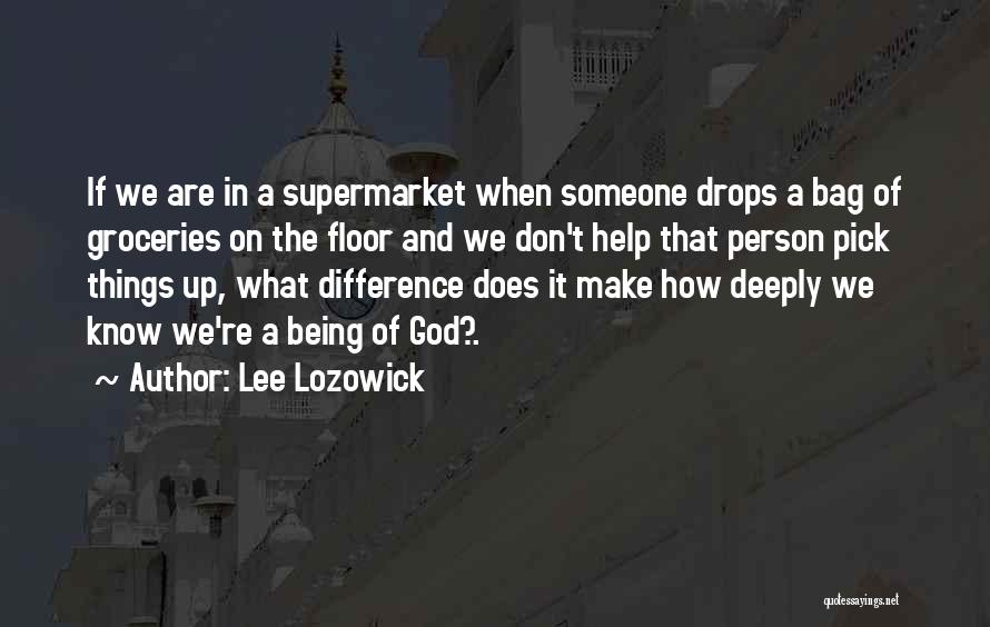 Being A Simple Person Quotes By Lee Lozowick