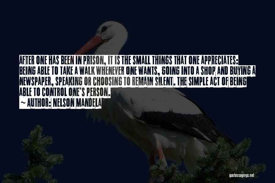 Being A Simple Person Quotes By Nelson Mandela