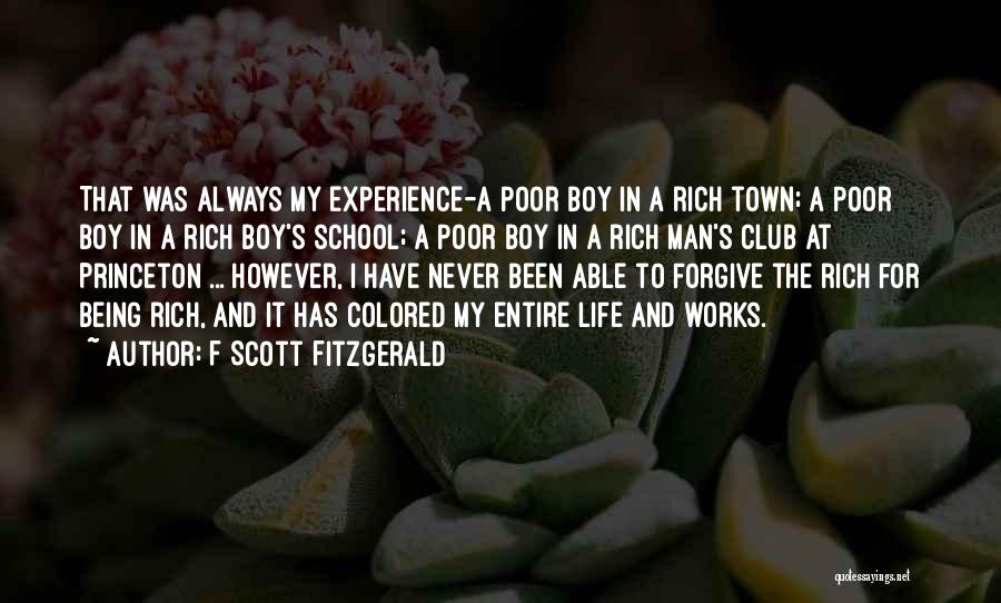 Being Able To Forgive Quotes By F Scott Fitzgerald