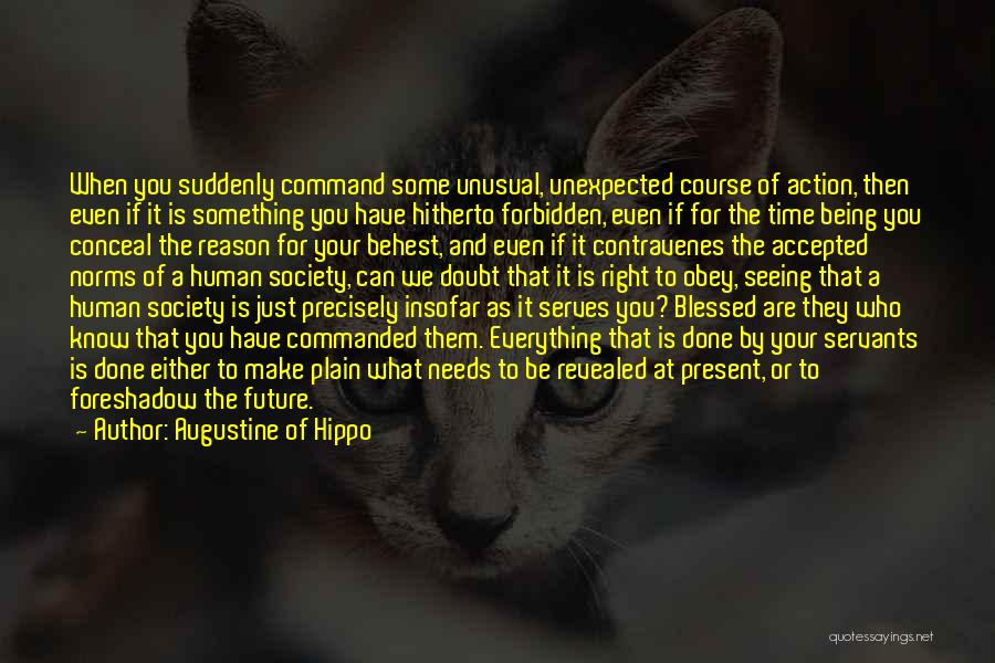 Being Accepted By Society Quotes By Augustine Of Hippo