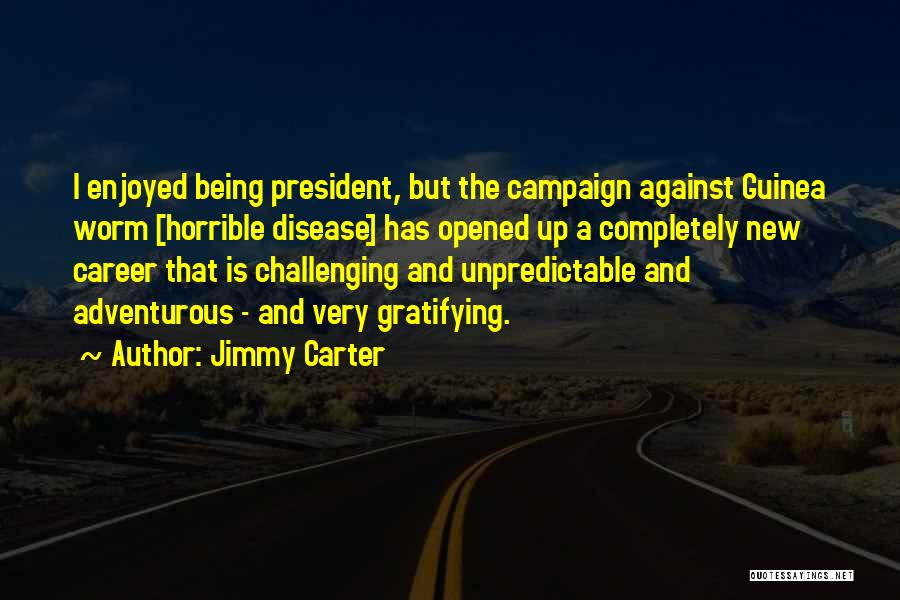 Being Adventurous Quotes By Jimmy Carter